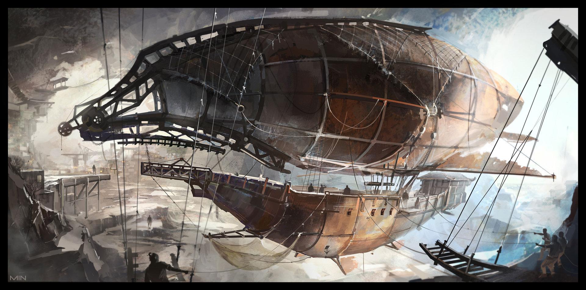 Dnd airships