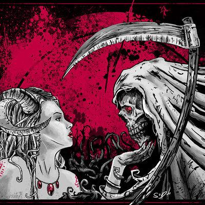 Love death by devil glonk d5k99vp